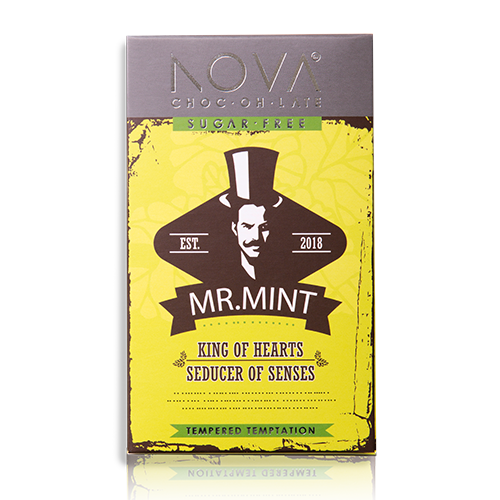 Mr-Mint-Chocolate-Slab-nova chocolate-sugar free-vegan-gluten free